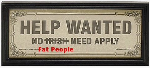 No fat people need apply