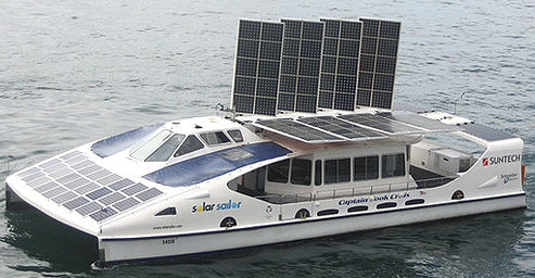 solar-powered ferry
