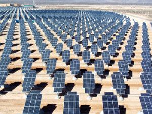 Nellis base solar