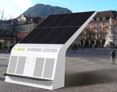emove. solar recharging for EVs