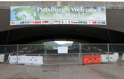 pittsburg welcomes the world. G20