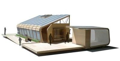seed. Univ. of Arizona. solar powered house