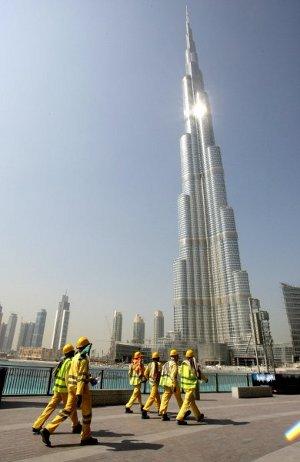 Burj Dubai. Der Spiegel photo