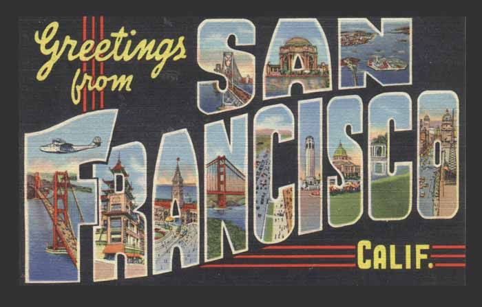 Greetings from san francisco calif from the collection of lew baer greetings from san francisco calif from the collection of lew baer m4hsunfo