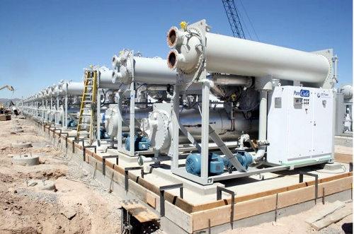 geothermal power modular unit