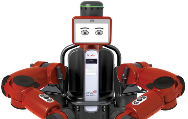 Hi, I'm Baxter the Robot. I will replace your job.