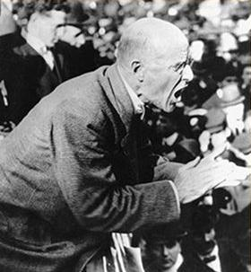 """When I rise, it will be with the ranks, not from the ranks."" – Eugene V. Debs"