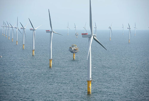 What offshore wind looks like. US still has none.Credit: statoil.com