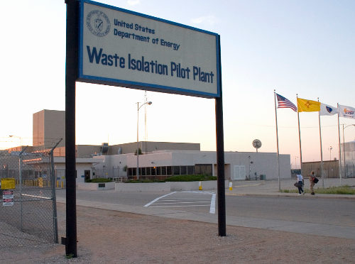 WIPP-Entrance