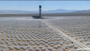 Ivanpah solar thermal power plant going live in Mojave desert