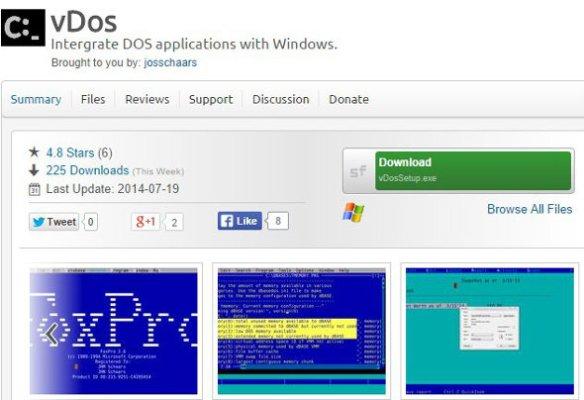 Open source vDos  Run 16-bit DOS programs in any version of Windows