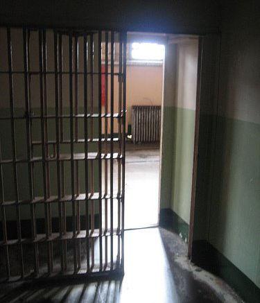 Jail door open