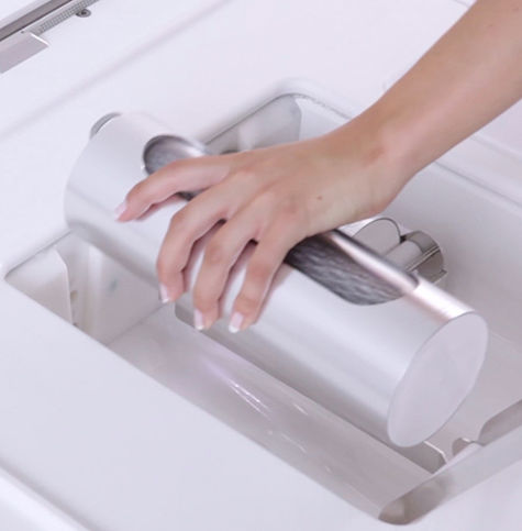 Shower of the Future, changing filter