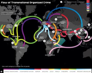 low of transnational organized crime
