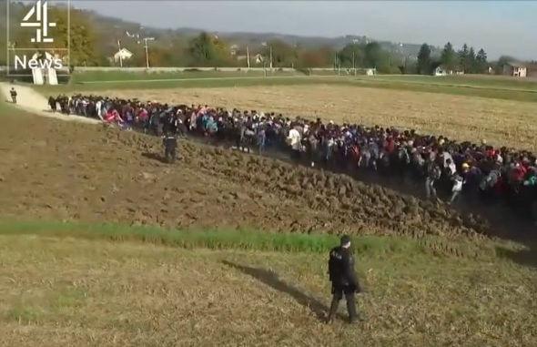 migrants-Croatia