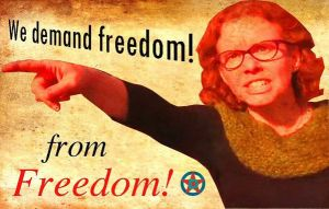 Melissa Click. Freedom from freedom