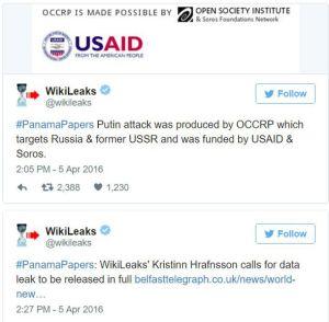 Soros, OCCRP, Panama Papers