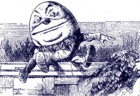 Trump will fall like Humpty Dumpty