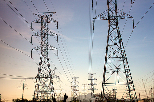 california power grid photo