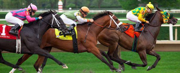 Horse race. Arlington Park