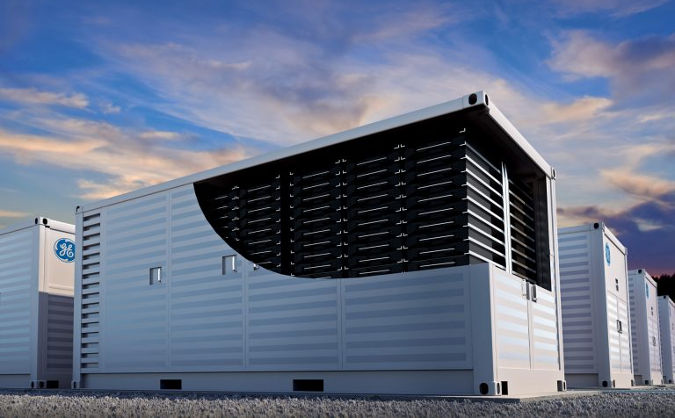 Grid-scale batteries. GE