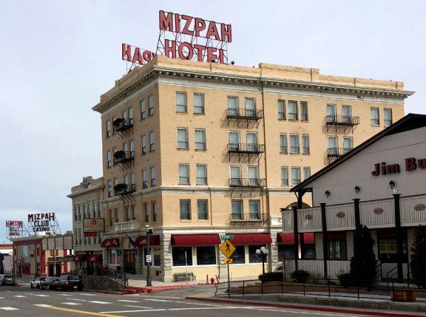 Mizpah Hotel. Tonopah