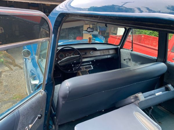 1971 Checker Marathon Medicab driver side, back seat