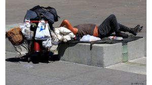 Homeless. Bill Morrow. Flickr