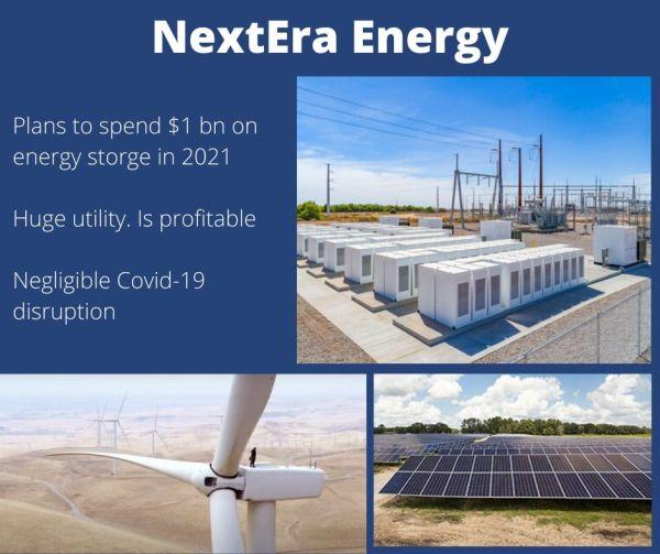 NextEra Energy. Renewables and energy storage.