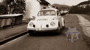 Polizei-Käfer 1972 in Plettenberg