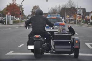 Polizei hilft, letzten Wunsch zu erfüllen