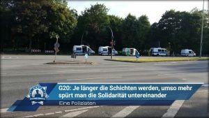 G20: Je länger die Schichten werden, umso mehr spürt man die Solidarität untereinander