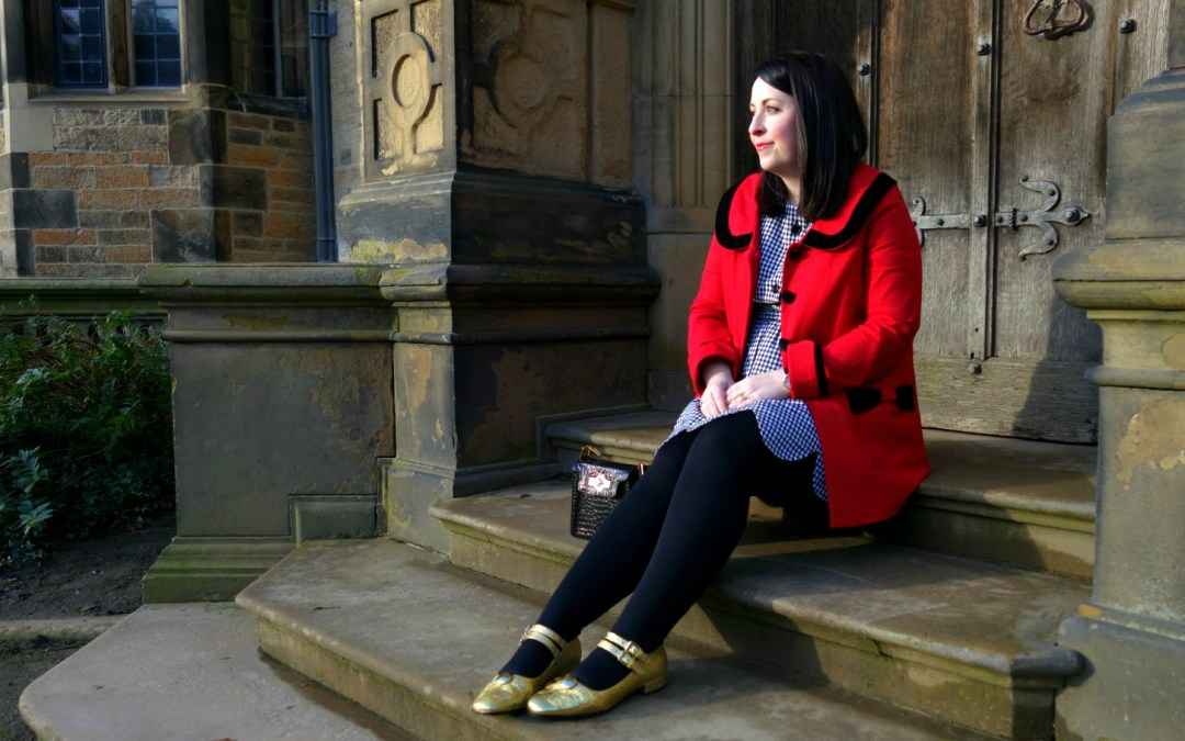 EXPLORING GAWTHORPE HALL :: MOD DOLLY FASHION DRESS