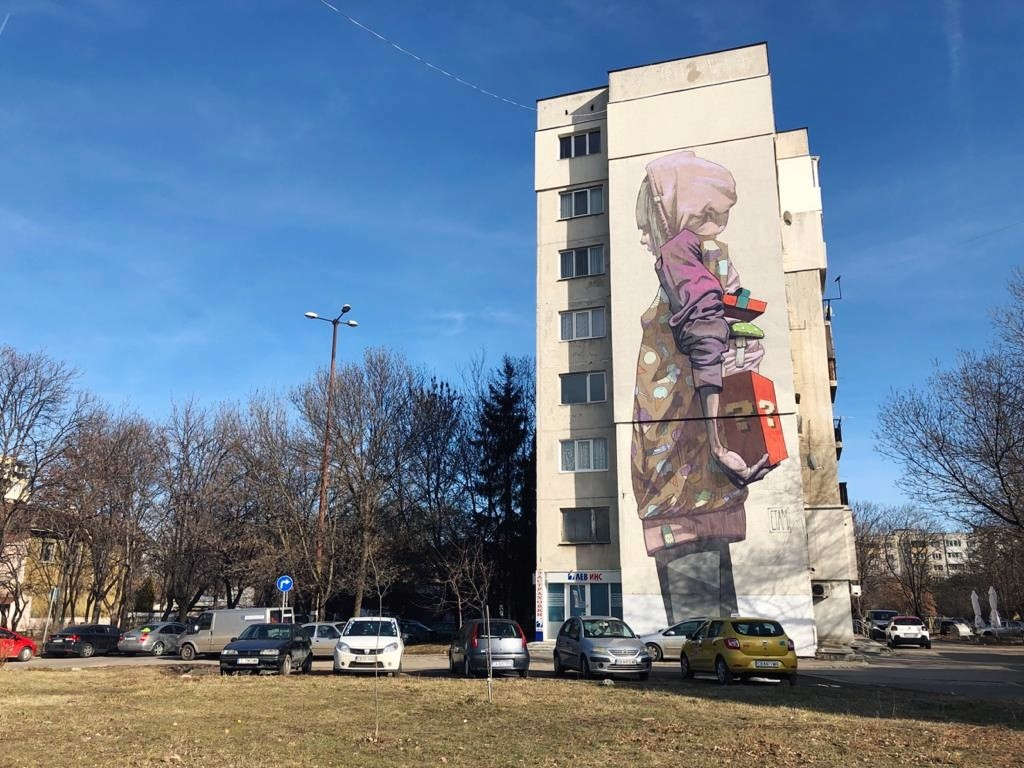 Things to do in Sofia Street Art Etam Crew