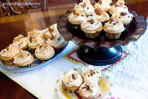 Kentucky Derby Pie Cupcakes