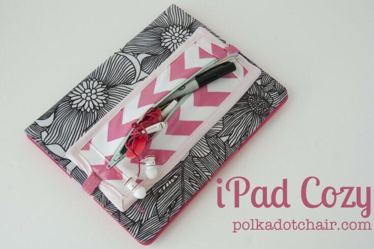 iPad Cozy... a tutorial
