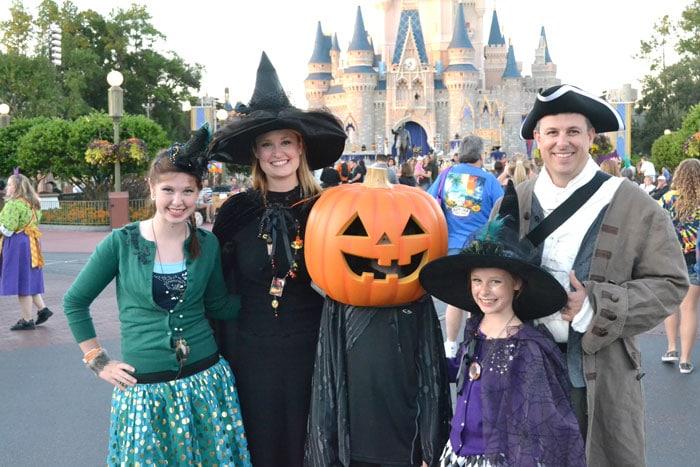 Mickey's Not So Scary Halloween Party at Disney World