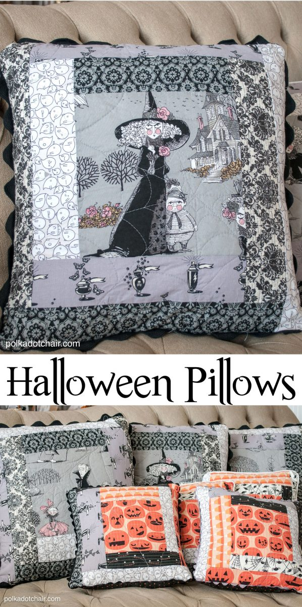 Quilted Halloween Pillows