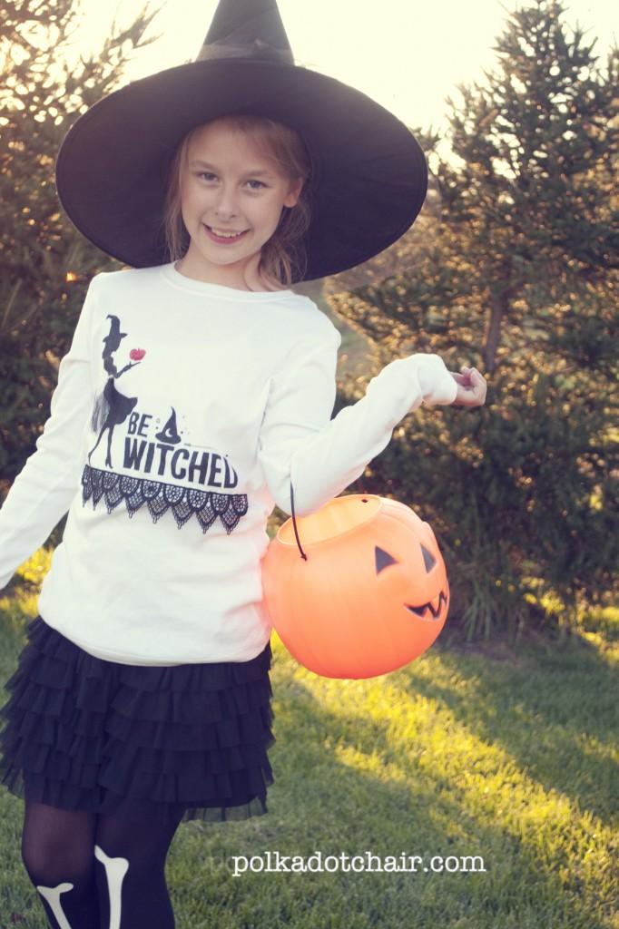 DIY halloween t-shirts