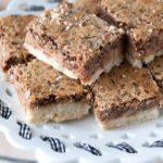 Recipe for Pecan Pie bars - looks delish!