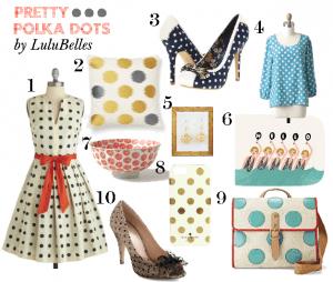 Polka Dot Fashion Inspiration