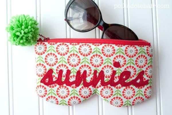 Sunnie's Free Sunglasses Case Sewing Pattern