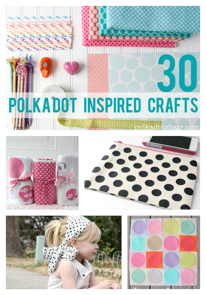 30 Crafts Inspired by Polka Dots