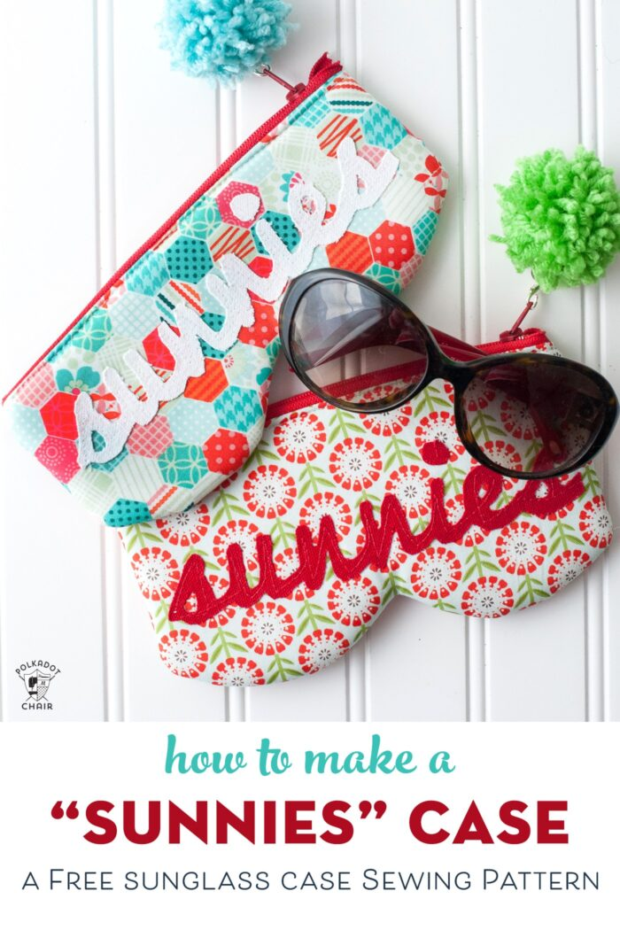 Sun Glasses Case pattern