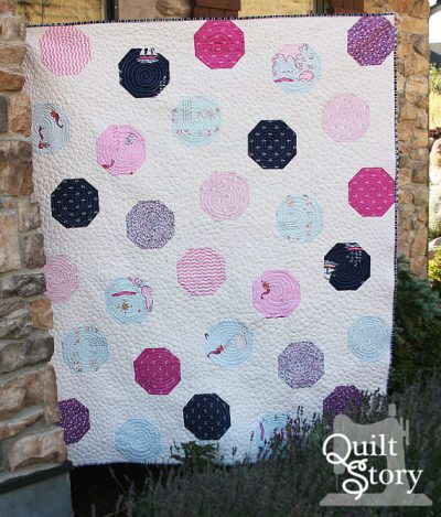 Polka Dot Quilt Pattern