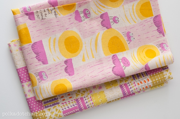 quilt make from fat quarter