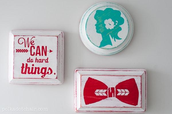 DIY Inspirational Magnets