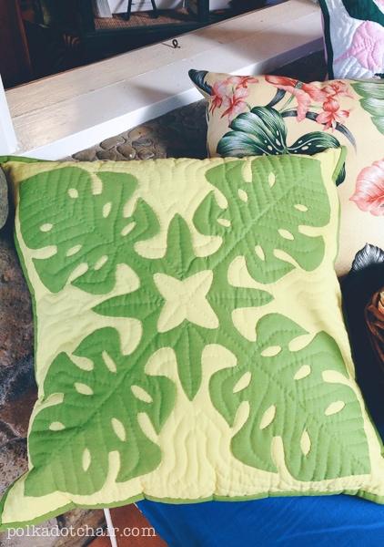 Hawaiian Pillow