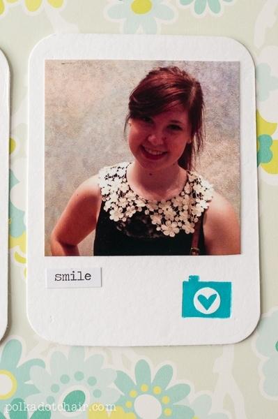 Studio Calico Letterpress Project Life Cards