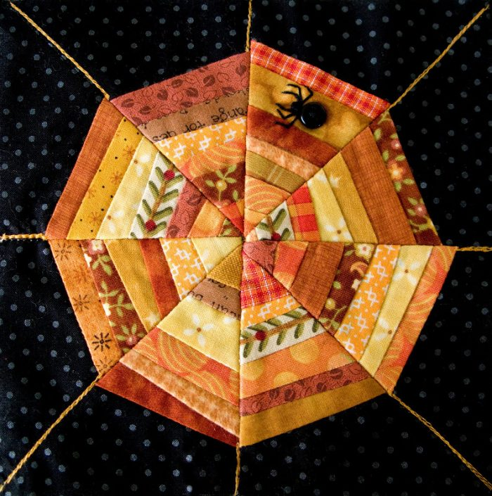 Spiderweb Quilt Block